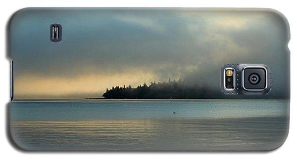 An Island In Fog Galaxy S5 Case