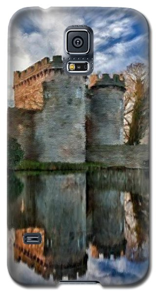 Ancient Whittington Castle In Shropshire England Galaxy S5 Case