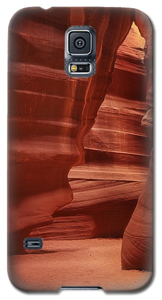 Antelope Slot Canyon Galaxy S5 Case by Andrew Soundarajan