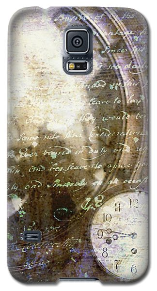 Antique Mirror And Clock Galaxy S5 Case by Suzanne Powers