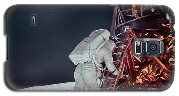 Apollo 11 Moon Landing Galaxy S5 Case by Image Science And Analysis Laboratory, Nasa-johnson Space Center