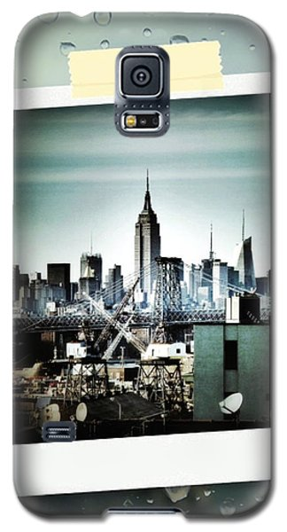 April In Nyc Galaxy S5 Case