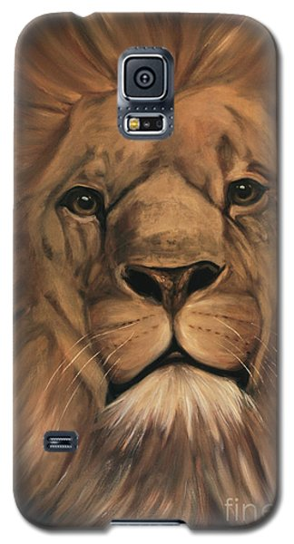 Galaxy S5 Case featuring the painting Asland by Nancy Bradley