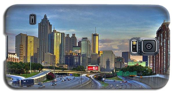 Atlanta Sunset Reflections Galaxy S5 Case by Reid Callaway