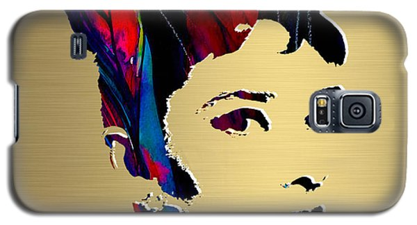 Audrey Hepburn Gold Series Galaxy S5 Case by Marvin Blaine