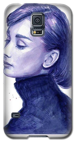 Audrey Hepburn Portrait Galaxy S5 Case