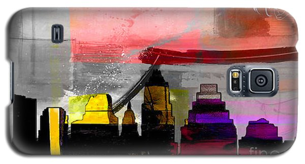 Austin Texas Skyline Watercolor Galaxy S5 Case