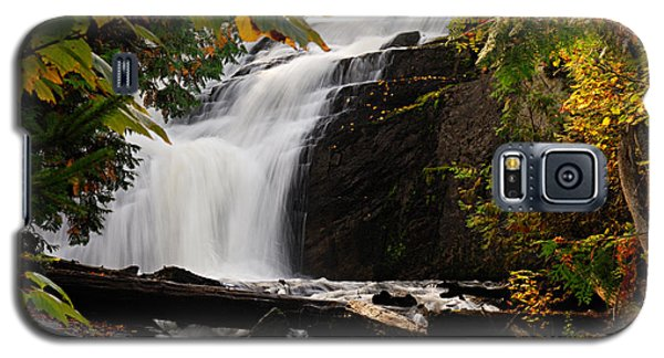 Autumn At Cattyman Falls Galaxy S5 Case
