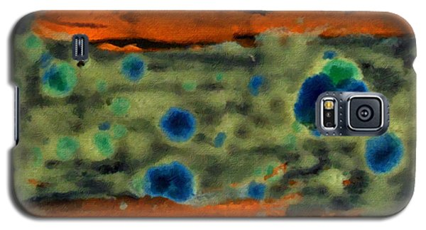 Galaxy S5 Case featuring the painting Autumn Breeze by Joan Reese