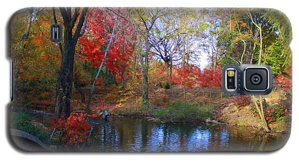Autumn By The Creek Galaxy S5 Case