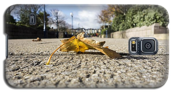 Autumn Leaf On Pathway Galaxy S5 Case