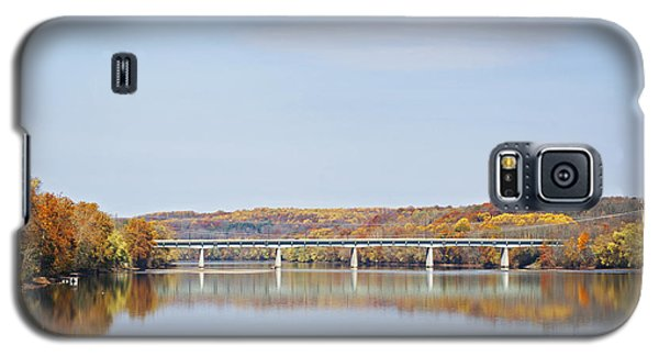 Autumn On The Delaware Galaxy S5 Case