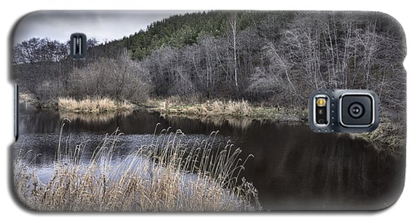 Galaxy S5 Case featuring the photograph Autumn Pond by Vladimir Kholostykh