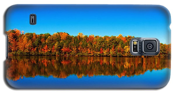 Galaxy S5 Case featuring the photograph Autumn Reflections by Andy Lawless