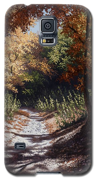 Autumn Trails Galaxy S5 Case