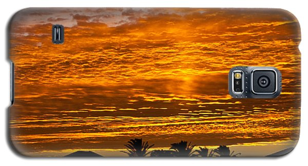 Galaxy S5 Case featuring the photograph 1 Awsome Sunset by Brian Williamson