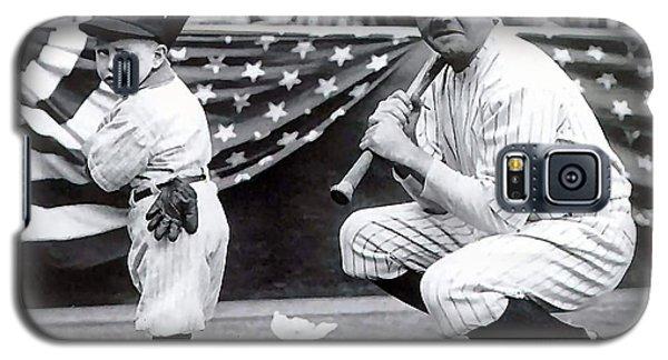 Babe Ruth Galaxy S5 Case