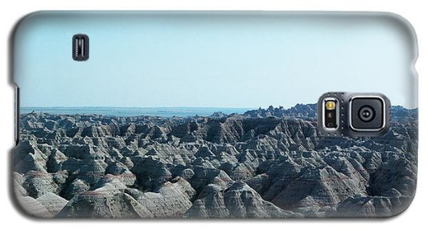 Galaxy S5 Case featuring the photograph Badlands Lan398 by G L Sarti