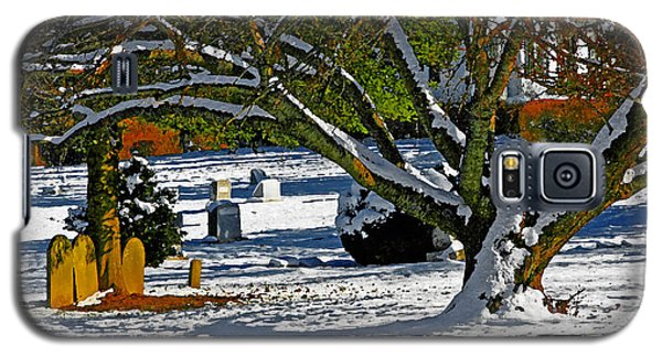 Baldwin Memorial United Methodist Church Cemetery Galaxy S5 Case by Andy Lawless