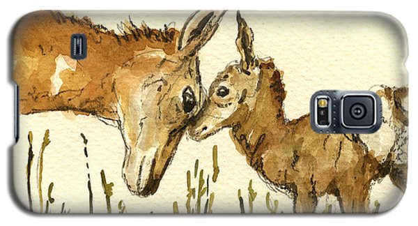 Bambi Deer Galaxy S5 Case by Juan  Bosco