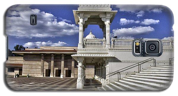 Baps Shri Swaminarayan Mandir Galaxy S5 Case by Allen Carroll