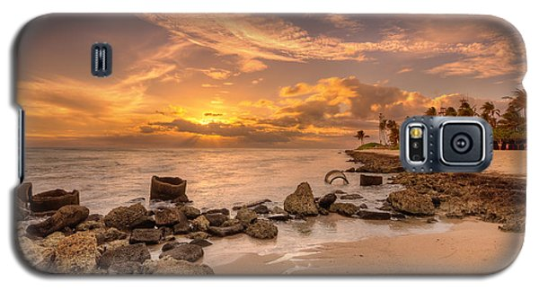 Barbers Point Light House Sunset Galaxy S5 Case