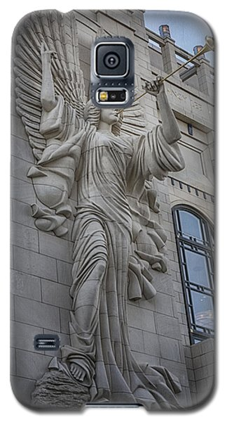 Bass Hall Angel Galaxy S5 Case by Joan Carroll