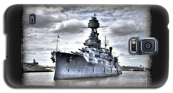 Battleship Texas Galaxy S5 Case by Savannah Gibbs