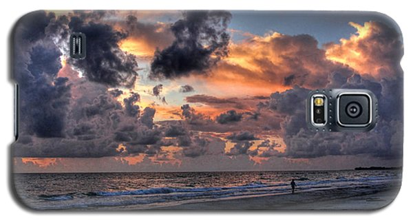 Beach Walk - Florida Seascape Galaxy S5 Case by HH Photography of Florida