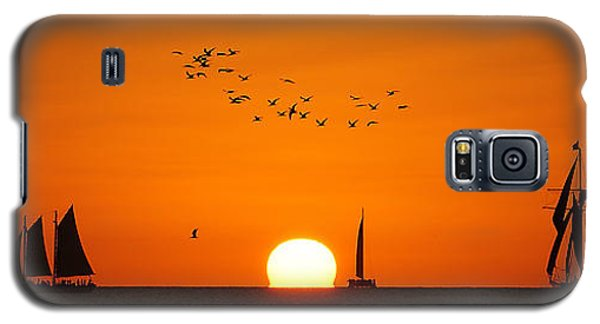 Beautiful Sunset Galaxy S5 Case