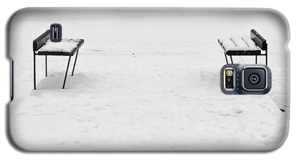 Benches On A Dock Galaxy S5 Case by Jouko Lehto