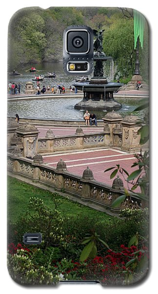 Bethesda Fountain - Central Park Nyc Galaxy S5 Case by Christiane Schulze Art And Photography