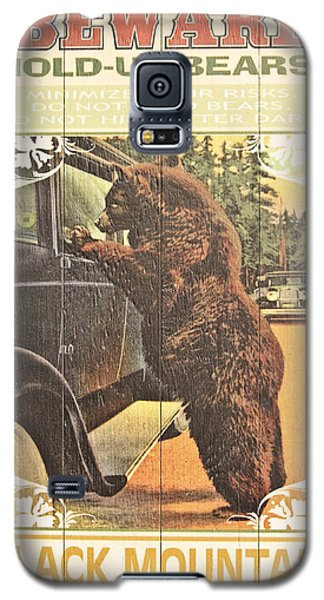 Galaxy S5 Case featuring the photograph Beware by Tammy Schneider