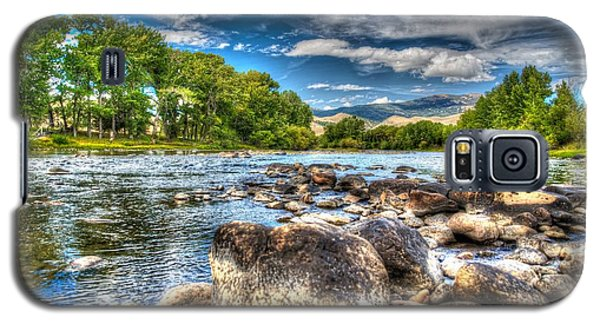 Big Hole River Divide Mt Galaxy S5 Case by Kevin Bone