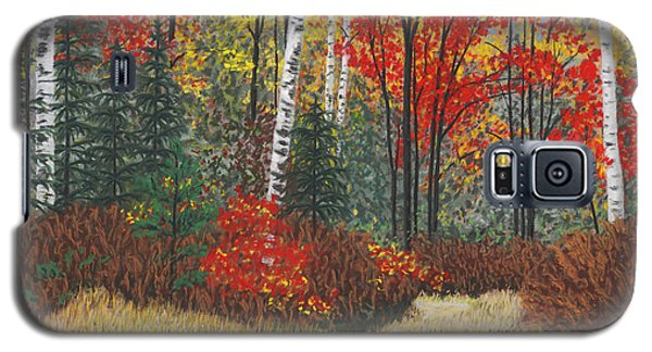 Birch Trail Galaxy S5 Case