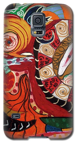 Birds Dragons Whales Galaxy S5 Case