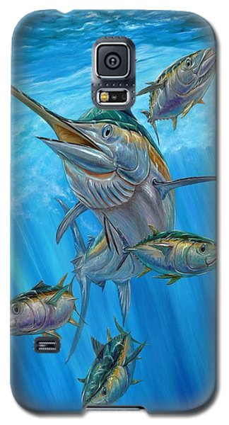 Black Marlin And Albacore Galaxy S5 Case