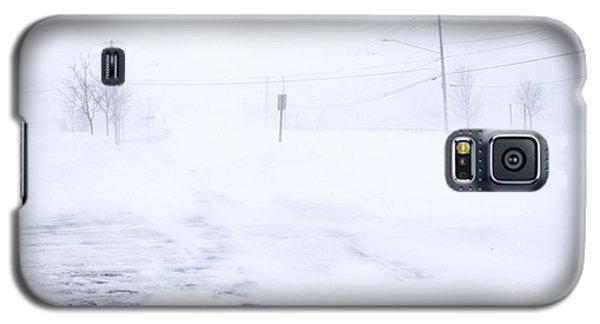 Blizzard Of 2014 Galaxy S5 Case by Jim Lepard