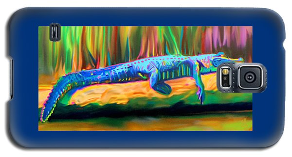 Blue Alligator Galaxy S5 Case