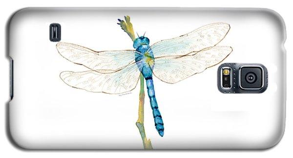 Blue Dragonfly Galaxy S5 Case by Amy Kirkpatrick