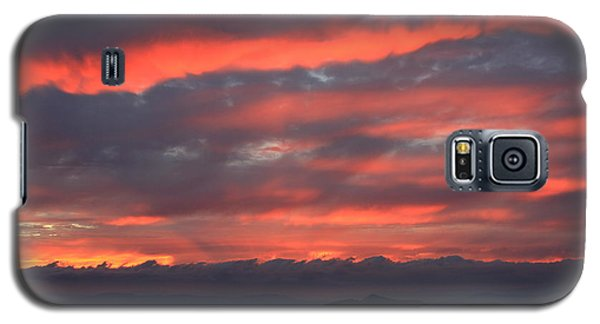 Galaxy S5 Case featuring the photograph Blue Ridge Parkway Sunset-north Carolina by Mountains to the Sea Photo
