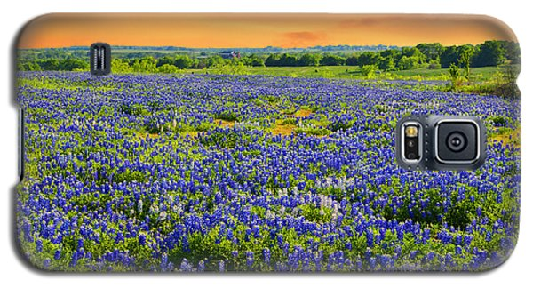 Bluebonnet Sunset  Galaxy S5 Case
