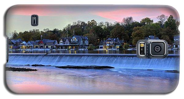 Boat House Row In Philadelphia 2 Galaxy S5 Case