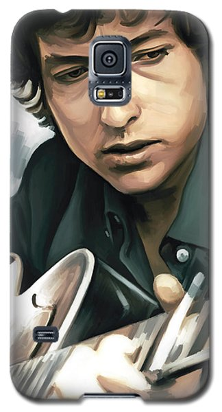 Bob Dylan Artwork Galaxy S5 Case