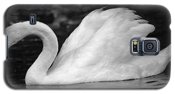 Boston Public Garden Swan Galaxy S5 Case