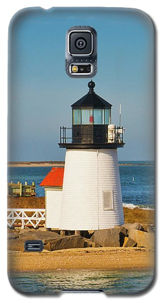 Brant Point Lighthouse Nantucket Galaxy S5 Case by Marianne Campolongo