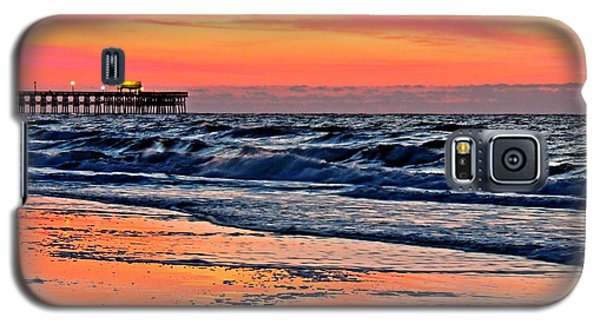 Galaxy S5 Case featuring the photograph Break Of Dawn by Eve Spring