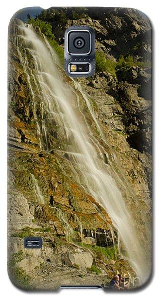 Bridal Veil Falls Galaxy S5 Case by Nick  Boren
