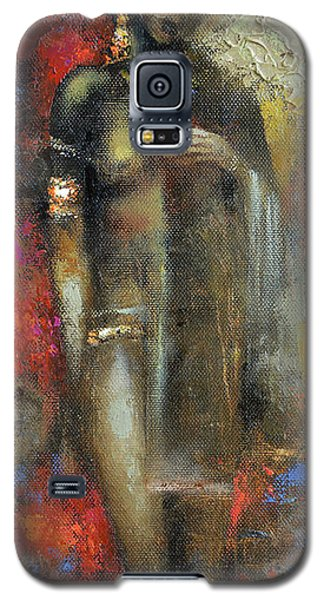 Galaxy S5 Case featuring the painting Bride Maya by Dmitry Spiros