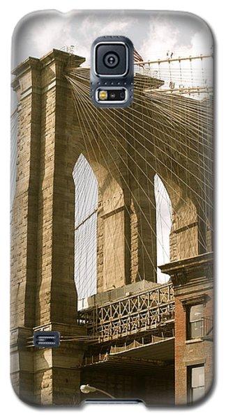 Brooklyn Bridge Galaxy S5 Case by Roseann Errigo